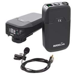 RODELink Filmmaker Kit 2.4GHz Wireless Lavalier Mic System