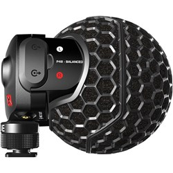 Rode Stereo VideoMic X Broadcast-Grade Stereo On-Camera Microphone