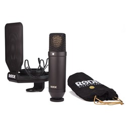 "OPEN BOX Rode NT1 1"" Microphone Cardioid Condenser w/ SMR Shock Mount"