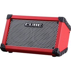 Roland Cube Street Battery Powered Stereo Amp (Red)