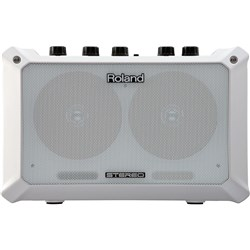 Roland Mobile BA Portable Battery Powered Amp (White)