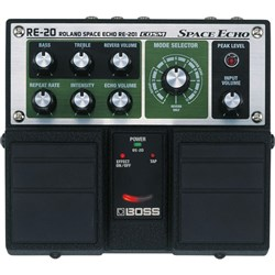 Boss RE20 Space Echo Twin Pedal