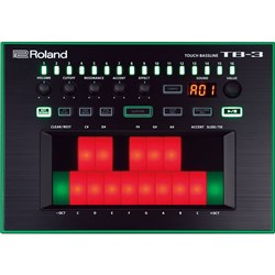 Roland Aira TB-3 Touch Bassline Bass Synthesizer
