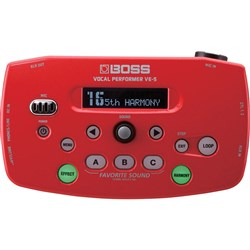 Roland Boss VE-5 Vocal Performer (Red)