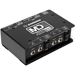 Samson MD2 Pro Stereo Passive Direct Box