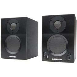 "Samson MediaOne BT3 Powered 3"" Studio Monitors w/ Bluetooth"