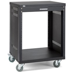 Samson SRK12 12-Unit Universal Rack Stand w/ Locking Casters