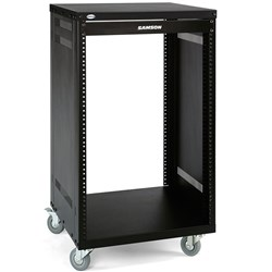 Samson SRK21 21-Unit Universal Rack Stand w/ Locking Casters