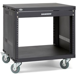 Samson SRK8 8-Unit Universal Rack Stand w/ Locking Casters