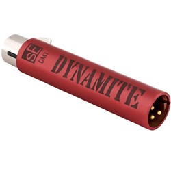 sE Electronics DM1 Dynamite Ultra-Slim Active Inline Preamp for Passive Mics