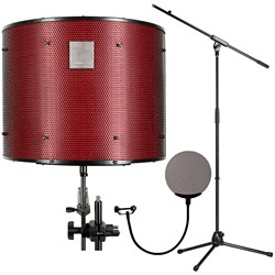 sE Reflexion Filter Pro Ltd Edition Portable Vocal Booth w/ Boom Stand and Pop Filter