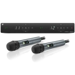 Sennheiser XSW 1 825 Dual 2-Channel Wireless Vocal System (Frequency Band BC)