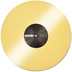 Serato Performance Vinyl: PAIR Yellow Coloured