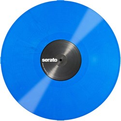 Serato Single Blue Control Vinyl: Performance Series