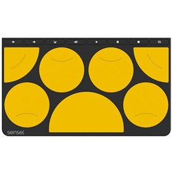 Sensel Drum Pad Overlay for Morph Control Surface