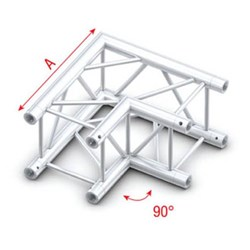 Showtec Pro-30 Box Truss 90° Corner (Same as Global, Euro, TrussT Truss)