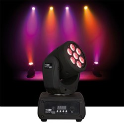 Showtec Kanjo Wash RGB LED Moving Head (7 x RGB)