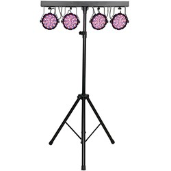 Showtec Compact Power Lightset MKII Value (432 x 10mm) Spots with Stand, Bag