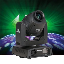 Showtec Phantom 50 MKII LED Spot Moving Head in Black (50W LED)