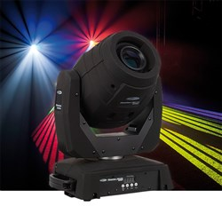 Showtec Phantom 75 LED Spot Moving Head in Black (75W LED)