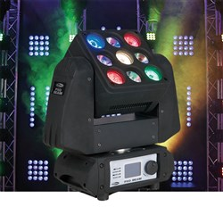 Showtec PXO Beam RGBW Moving Head (9 x RGBW)