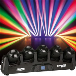 Showtec Shooter 180 Moving Head Array (5 x 12W RGBW)