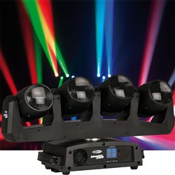 Showtec Shooter 360 Moving Head Array (4 x 12W RGBW) with Continuous Pan Rotation