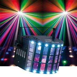 Showtec Techno Derby 2 in 1 Effect LED Lighting Effect