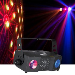 Showtec X-Terminator 3 in 1 Light (LED, Strobe & Laser) Effect