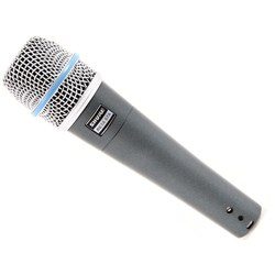 Shure Beta 57A Dynamic Lo Z Instrument SuperCardioid Mic