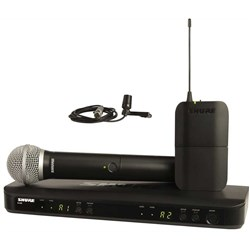 Shure BLX PG58 / CVL Dual Wireless Mic System M17