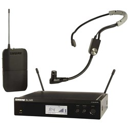 Shure BLX14 SM35 Wireless Headset Mic System M17