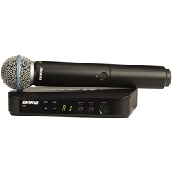 Shure BLX24 / Beta58  Handheld Wireless System M17