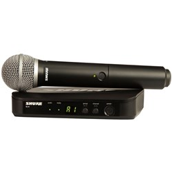 Shure BLX24 / PG58  Handheld Wireless System M17