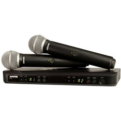 Shure BLX288 / Beta58 Dual Wireless Mic System M17