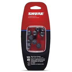Shure EABKF1-10L  Large Foam sleeves for SE Series (5 Pair)