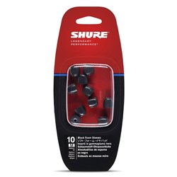 Shure EABKF1-10M Medium Foam sleeves for SE Series (5 Pair)