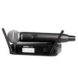 Shure GLX-D-24 / SM58 Handheld Wireless System