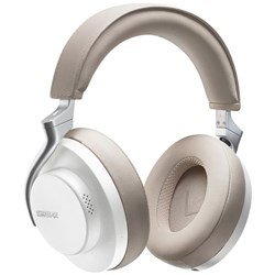 Shure Aonic 50 Wireless Noise Cancelling Headphones w Studio Quality Sound (White/Tan)