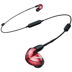 Shure SE535 Sound Isolating Earphones w/ Bluetooth (Special Edition Red)
