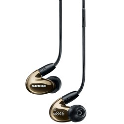 Shure SE846 Sound Isolating Earphones (Bronze)