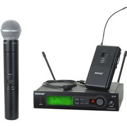 Shure SLX124/85/SM58 Combo Wireless System L4
