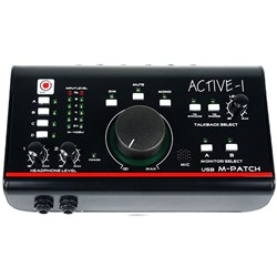 SM Pro Audio M-Patch Active-1 Precision Monitor Control w/ Studio Talkback & USB I/O