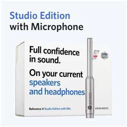Sonarworks Reference 4 Studio Edition w/ XREF20 Measurement Microphone