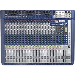 Soundcraft Signature 22 Analog Mixing Console w/ USB & Lexicon Effects