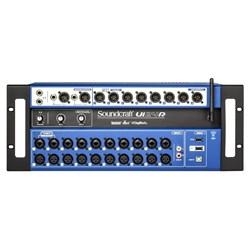 Soundcraft Ui24R 24-channel Digital Mixer USB Multi-Track Recorder w/ Wireless Control