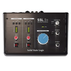Solid State Logic SSL 2+ 2x4 USB Audio Interface w/ Legacy 4K Analogue Enhancement