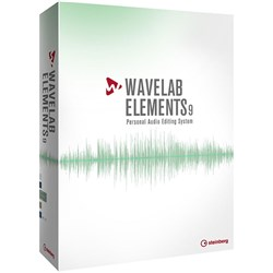 Steinberg Wavelab Elements 9 Audio Editing Software