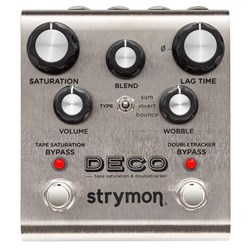 Strymon Deco Tape Saturation & Doubletracker Delay Pedal