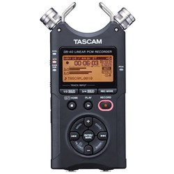 Tascam DR-40 (Version 2) Handheld 4-Ch Digital Recorder